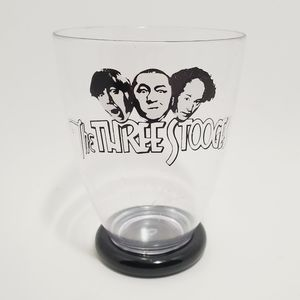 VTG The Three Stooges Plastic Cup